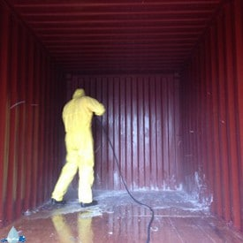 containers reinigen