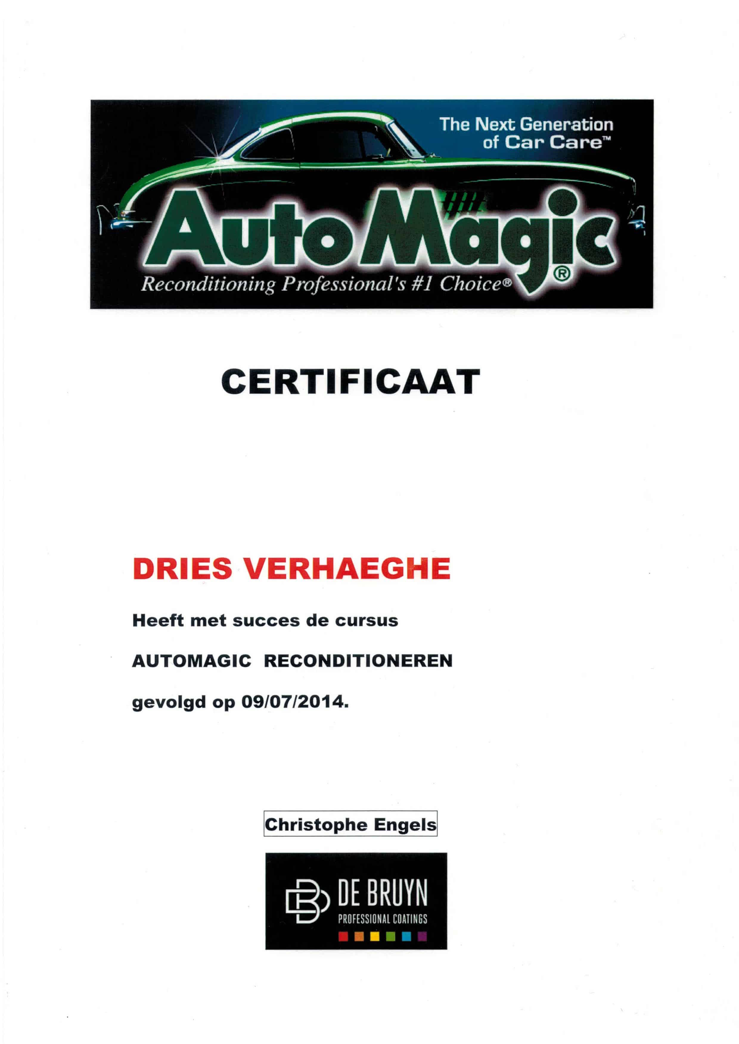 certificaat detailling