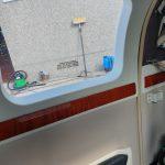 interieur vliegtuig reinigen