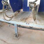 reinigen van stallen